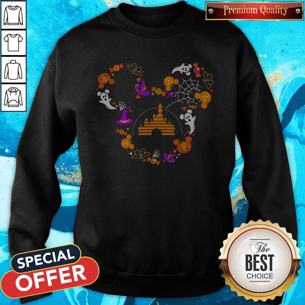 Nice Mickey Mouse Disney Halloween Sweatshirt