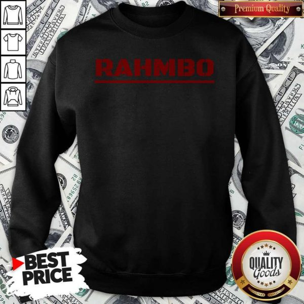 Nice Rahmbo Golf Official Sweatshirt