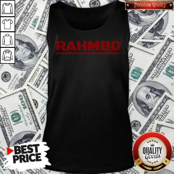 Nice Rahmbo Golf Official Tank Top