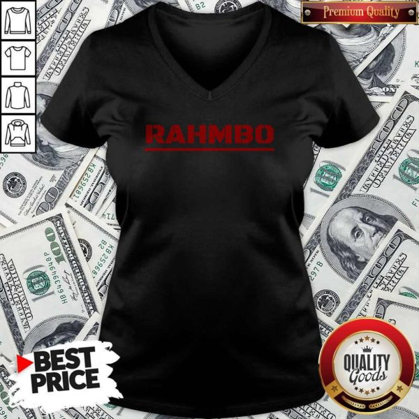 Nice Rahmbo Golf Official V-neck