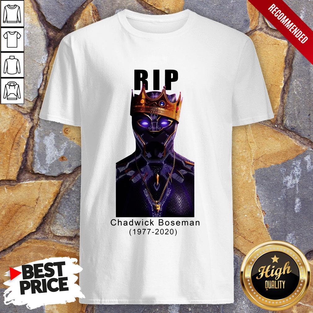 Actor Chadwick Boseman The Black Panther Marvel Shirt