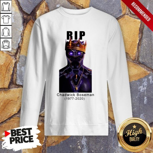 Actor Chadwick Boseman The Black Panther Marvel Sweatshirt
