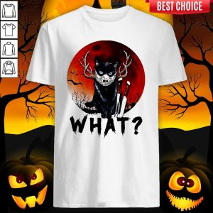 Black Cat Jason Voorhees What Halloween Shirt
