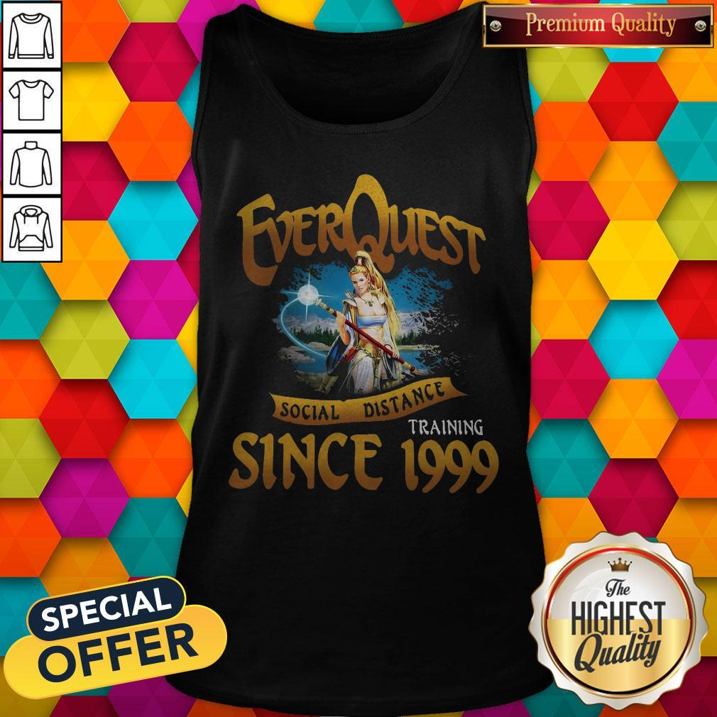 Everquest Social Distance Training Since 1999 Tank Top