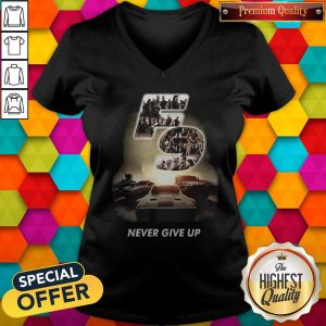 Fast And Furious 9 Never Give Up V-neck