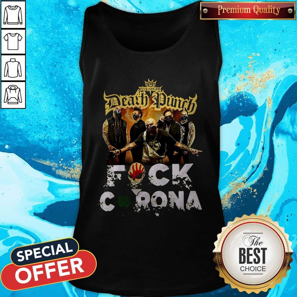 Five Finger Death Punch Fuck Corona Tank Top