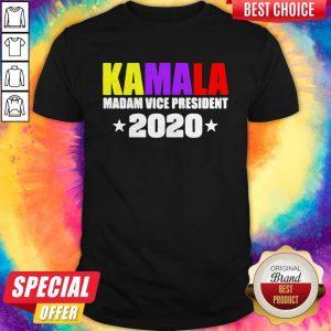 Kamala Harris Madam Vice President 2020 Shirt