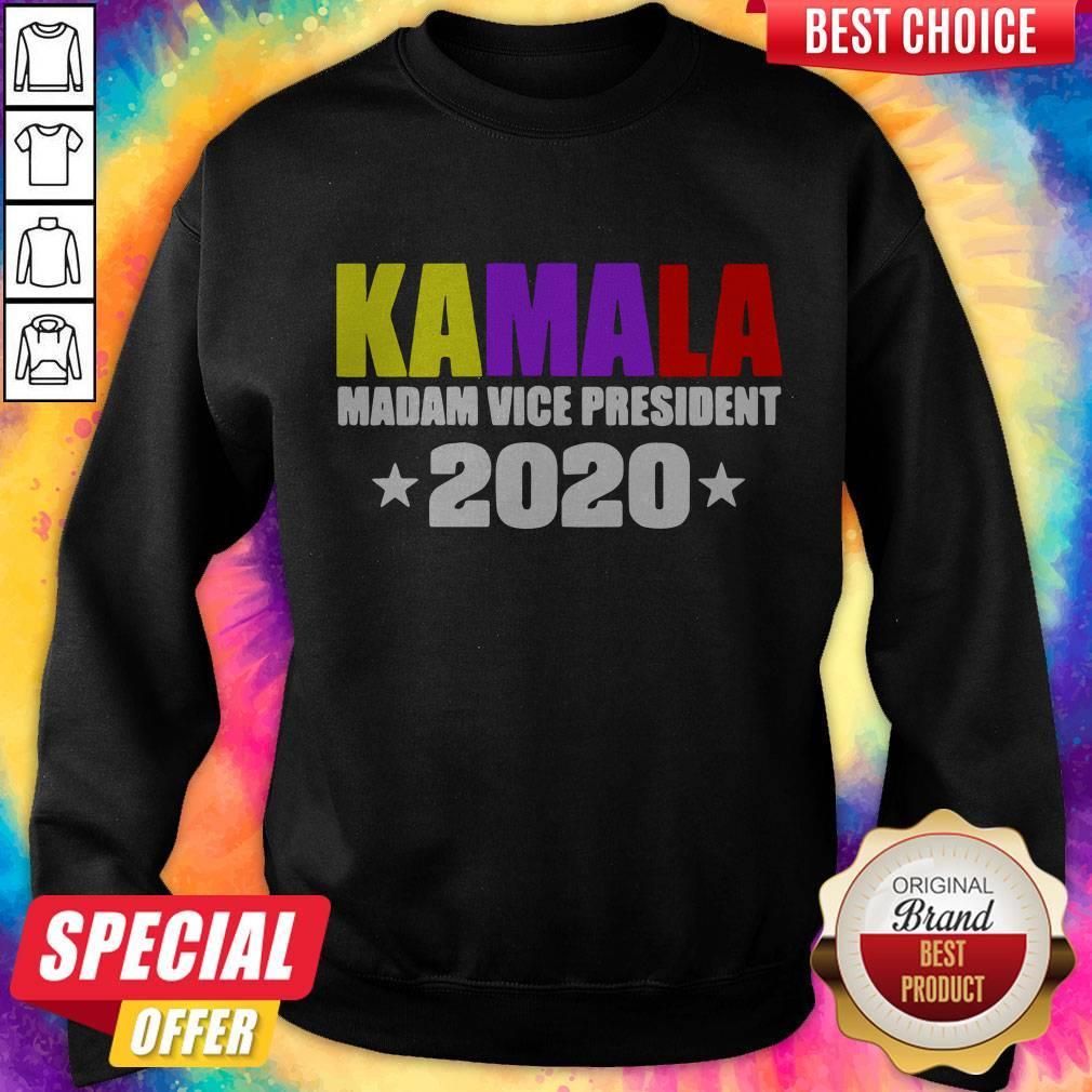 Kamala Harris Madam Vice President 2020 Sweatshirt