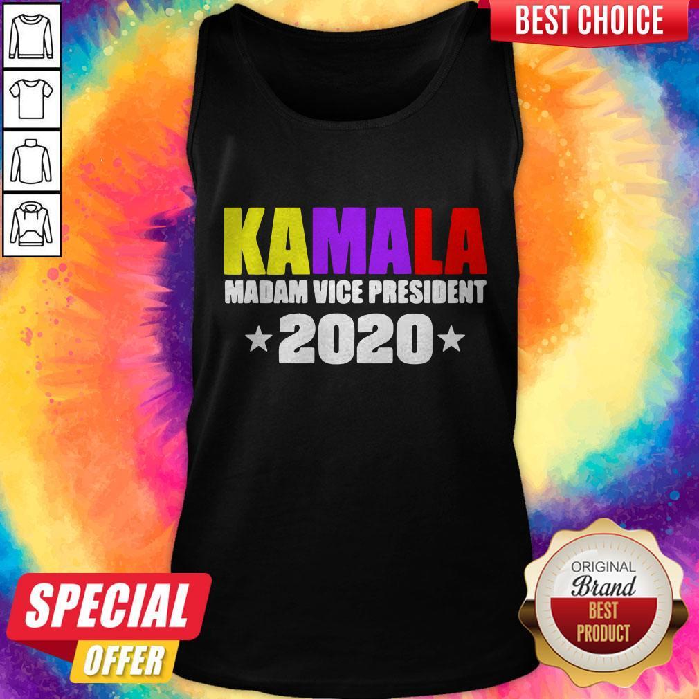 Kamala Harris Madam Vice President 2020 Tank Top