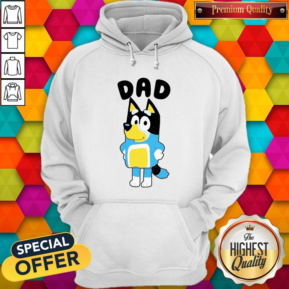 Nice Dad Bluey TV Series Hoodie