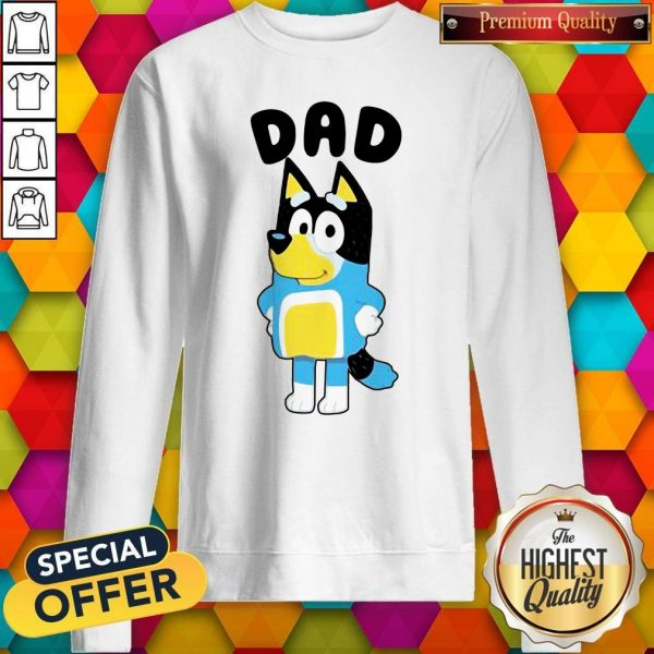 Nice Dad Bluey TV Series Sweatshirt
