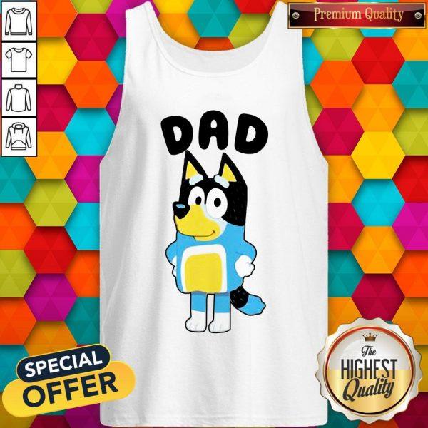 Nice Dad Bluey TV Series Tank Top