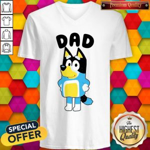 Nice Dad Bluey TV Series V-neck
