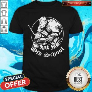 Nice Hockey Goalie Old School Shirt