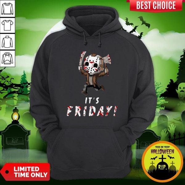 Nice Jason Voorhees It's Friday Hoodie