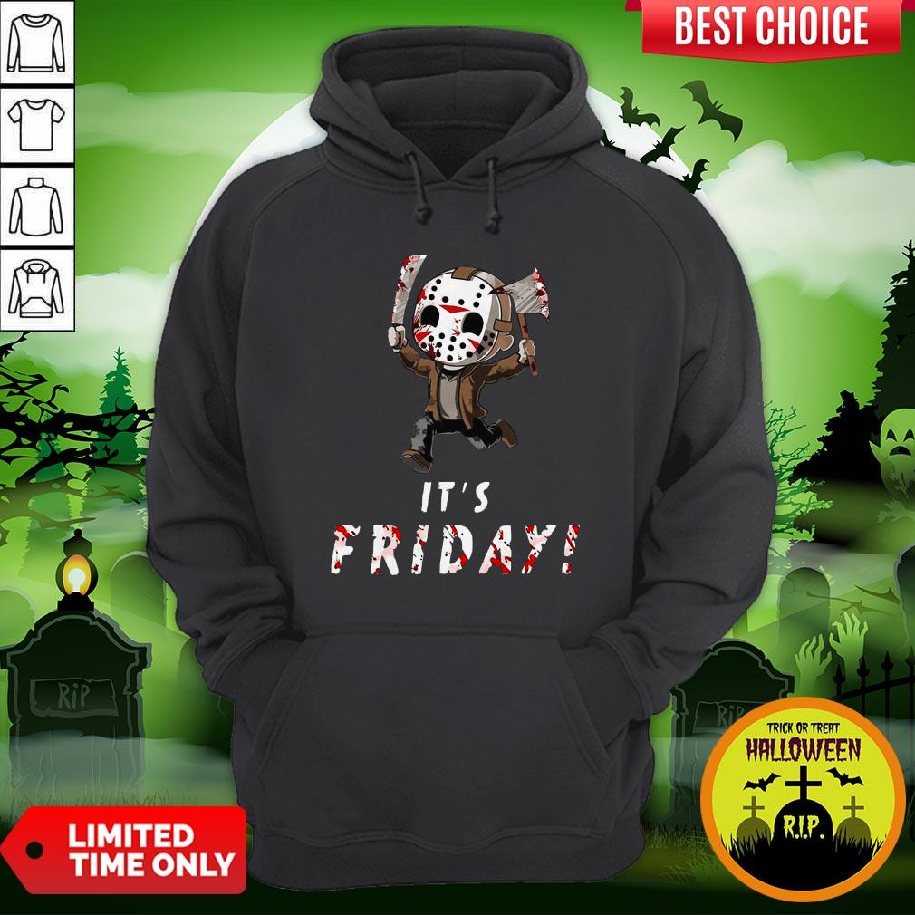 Nice Jason Voorhees It's Friday Hoodie