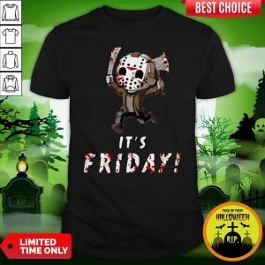 Nice Jason Voorhees It's Friday Shirt