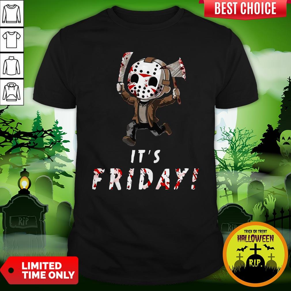 Nice Jason Voorhees It's Friday Shirt