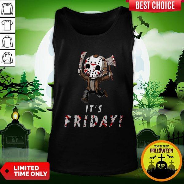 Nice Jason Voorhees It's Friday Tank Top