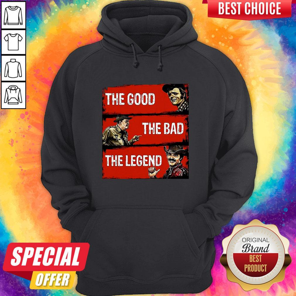Nice The Good The Bad The Legend Hoodie