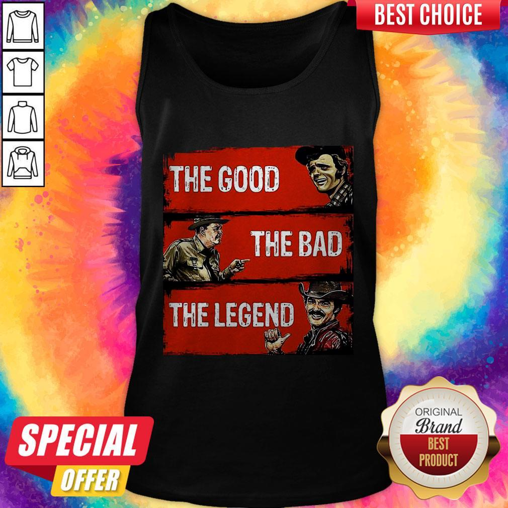 Nice The Good The Bad The Legend Tank Top