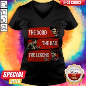 Nice The Good The Bad The Legend V-neck