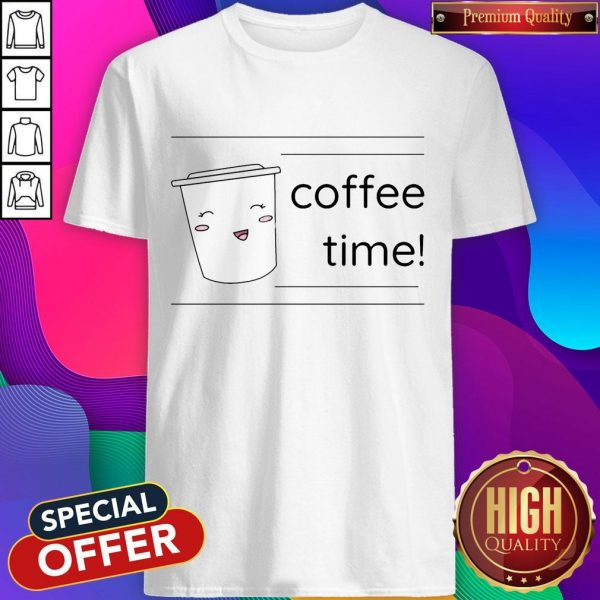 Office Coffee Time Men's Premium T-Shirt