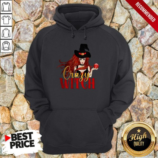 Office Crazy Witch Hoodie