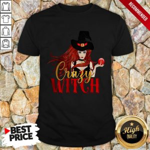 Office Crazy Witch Shirt
