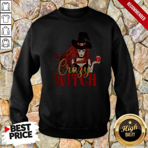 Office Crazy Witch Sweatshirt