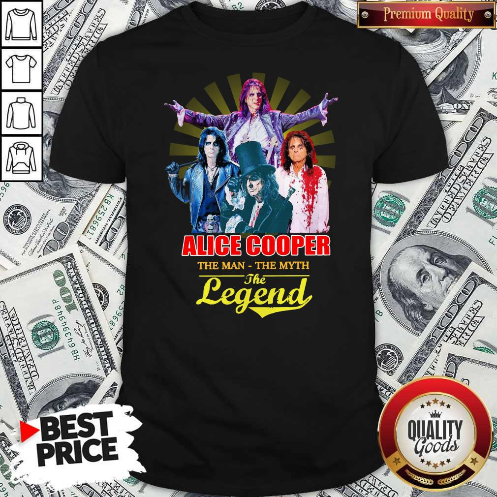 Official Alice Cooper The Man The Myth The Legend Shirt