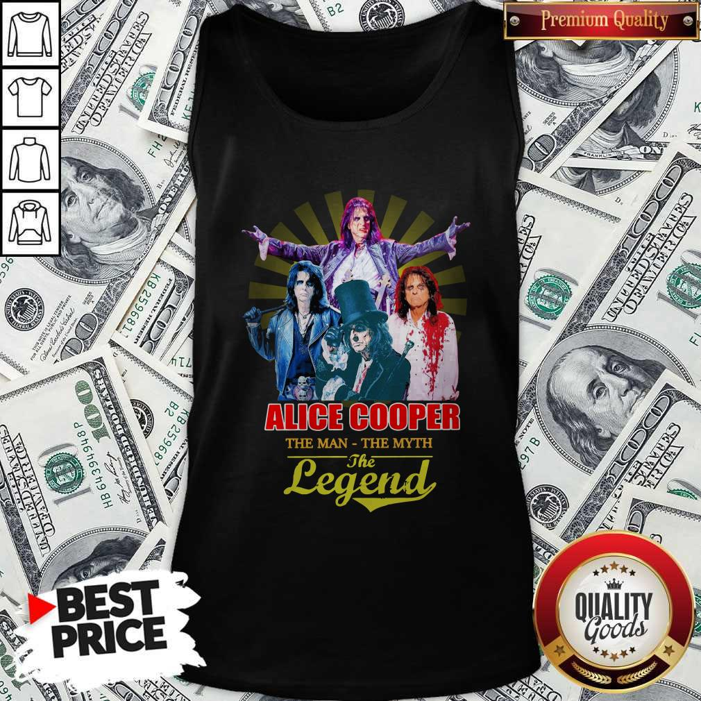 Official Alice Cooper The Man The Myth The Legend Tank Top