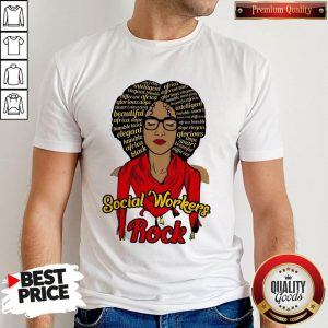 Official Black Girl Magic Social Workers Rock Shirt