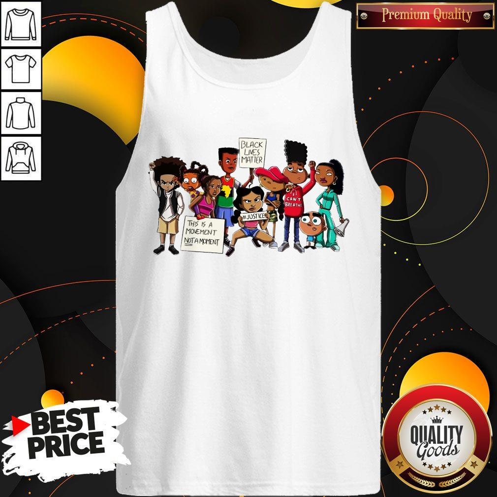 Official Black Lives Matter This A Movement Not Moment Tank Top