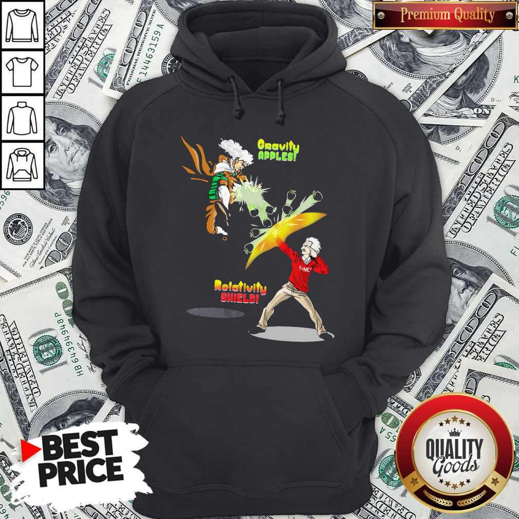 Official Gravity Apples Relativity Shield Hoodie