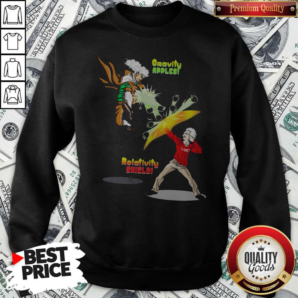 Official Gravity Apples Relativity Shield Sweatshirt