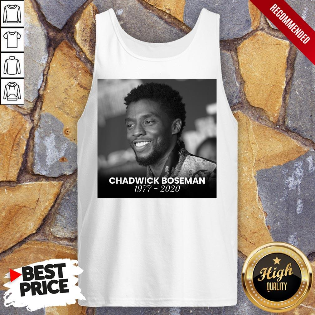 Official Rip Chadwick Boseman Tank Top