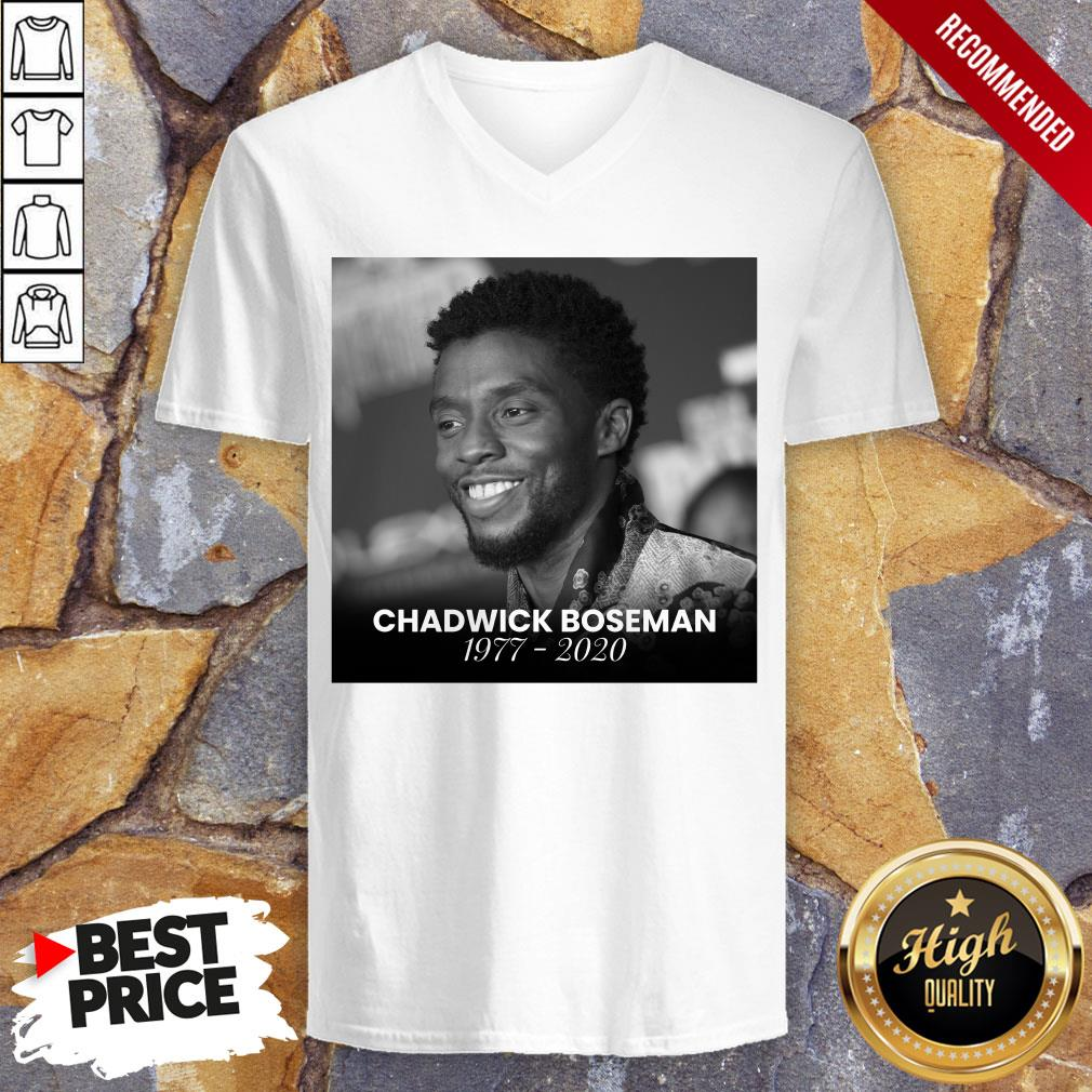 Official Rip Chadwick Boseman V-neck