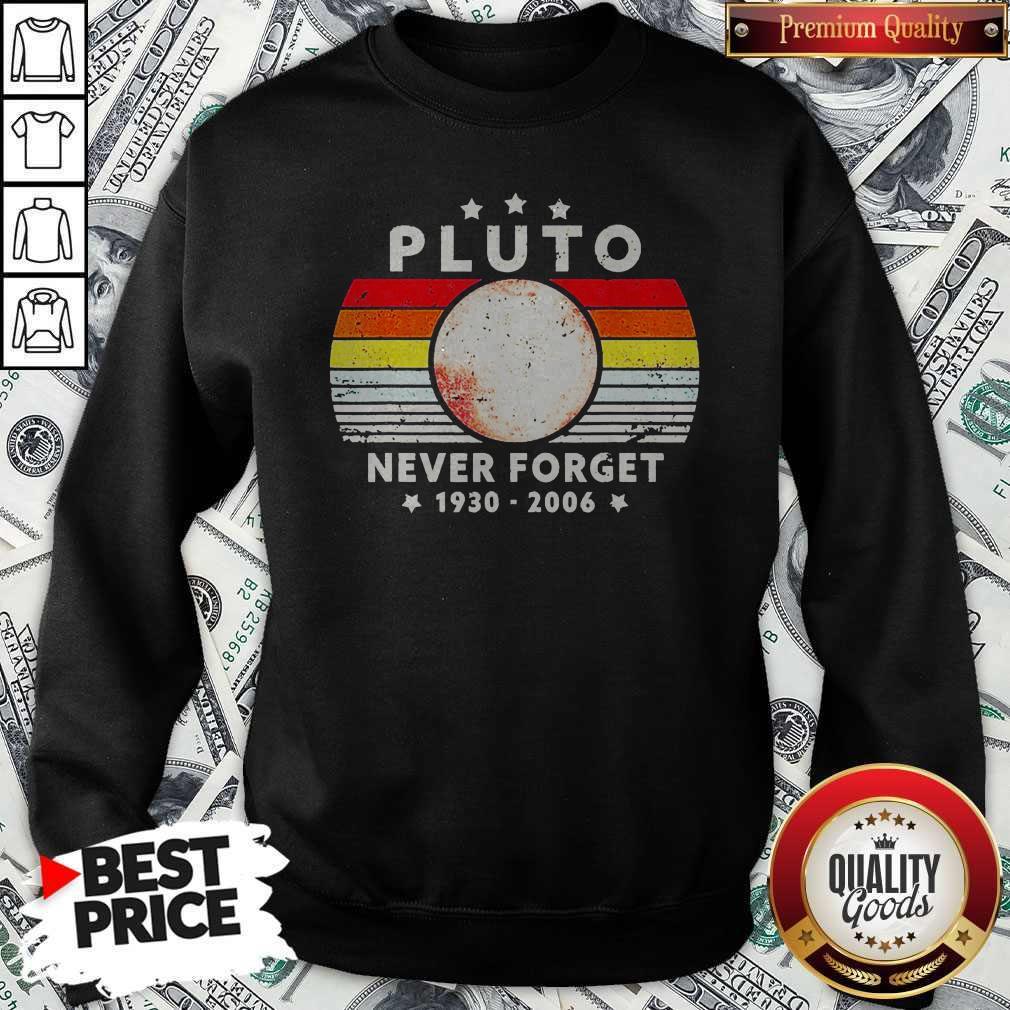 Pluto Never Forget 1930 2006 Vintage Sweatshirt