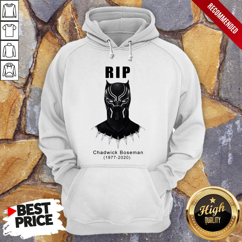RIP Actor Chadwick Boseman Of Marvel Thank You For The Memories Hoodie