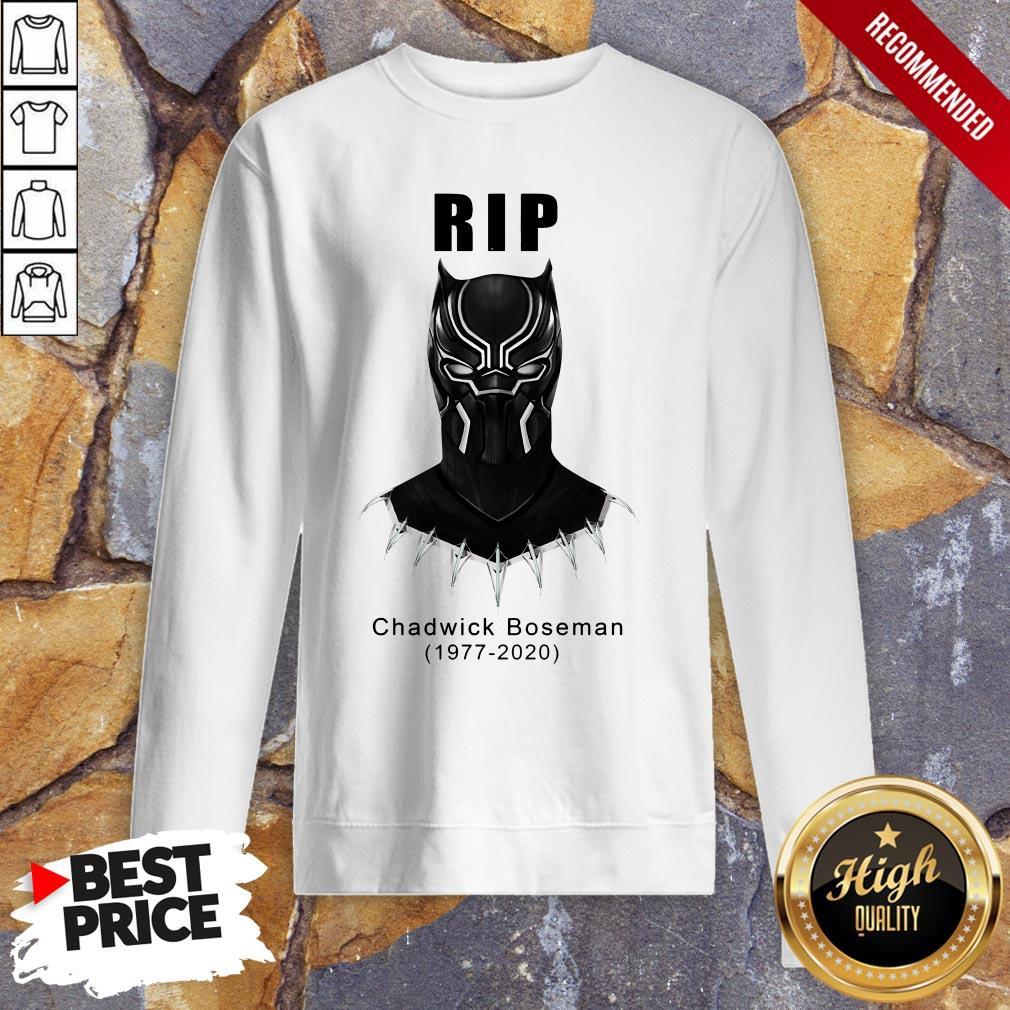 RIP Actor Chadwick Boseman Of Marvel Thank You For The Memories Sweatshirt