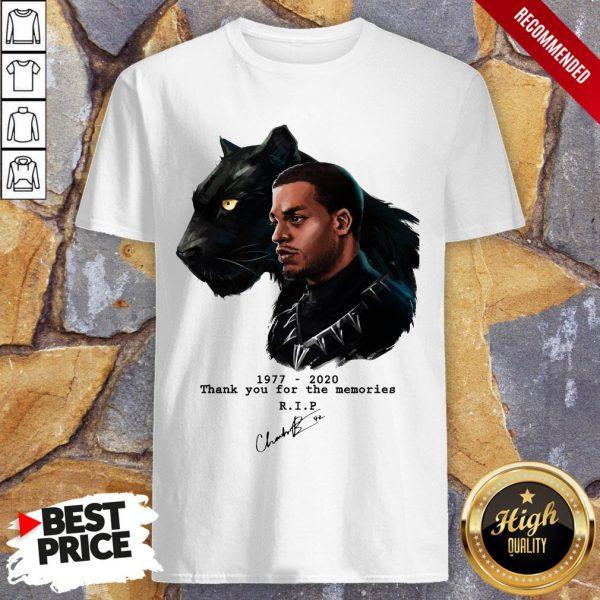 T'Challa In Black Panther Chadwick Boseman 1977 2020 Shirt