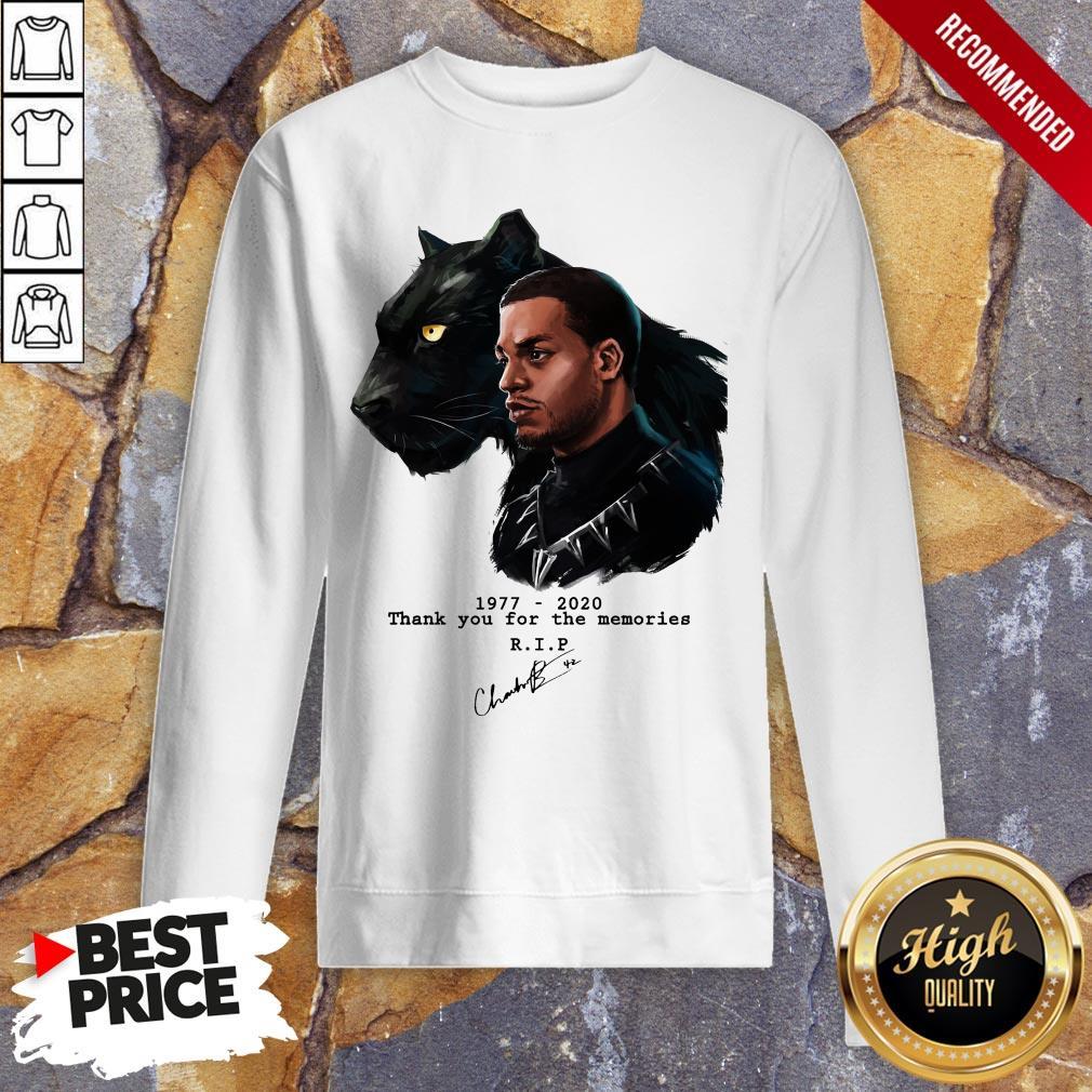 T'Challa In Black Panther Chadwick Boseman 1977 2020 Sweatshirt