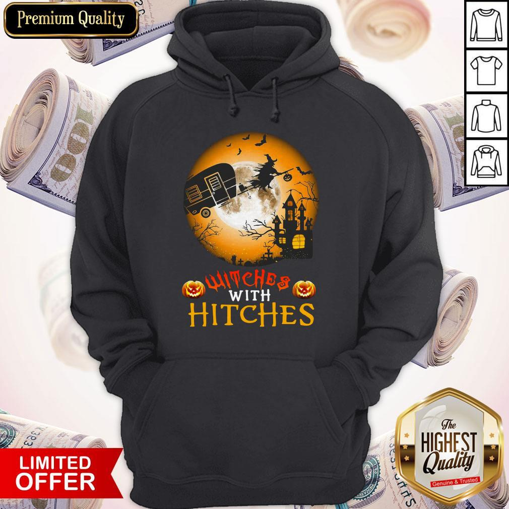 Witches With Hitches Halloween Hoodie