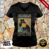 Black Cat That'S What I Do I Read Books I Drink Wine And I Know Things V-neck
