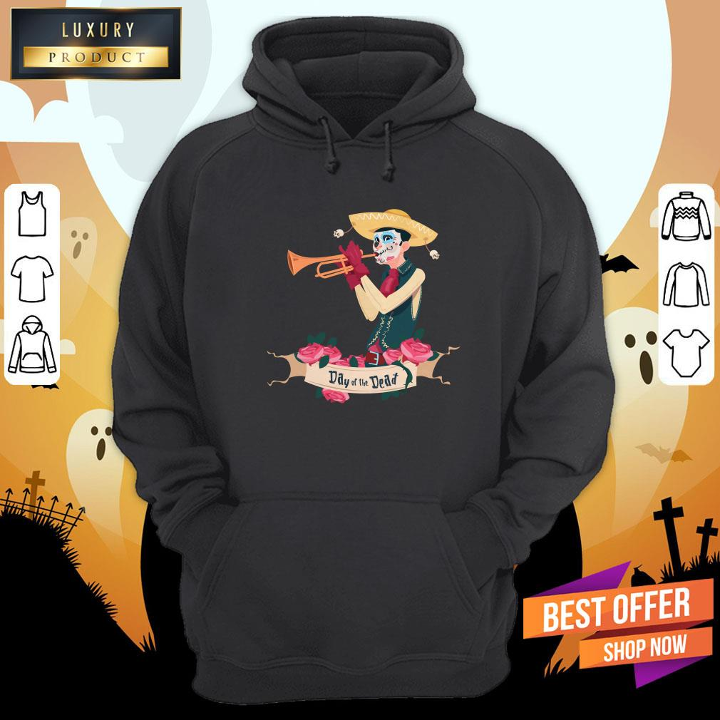 Day Of The Dead The Cowboy Happy Mexican Holiday Hoodie