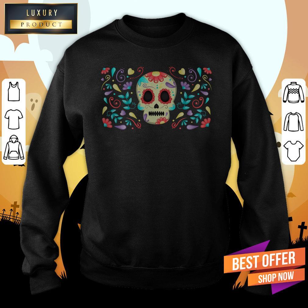 Dia De Muertos Garden Sweatshirt