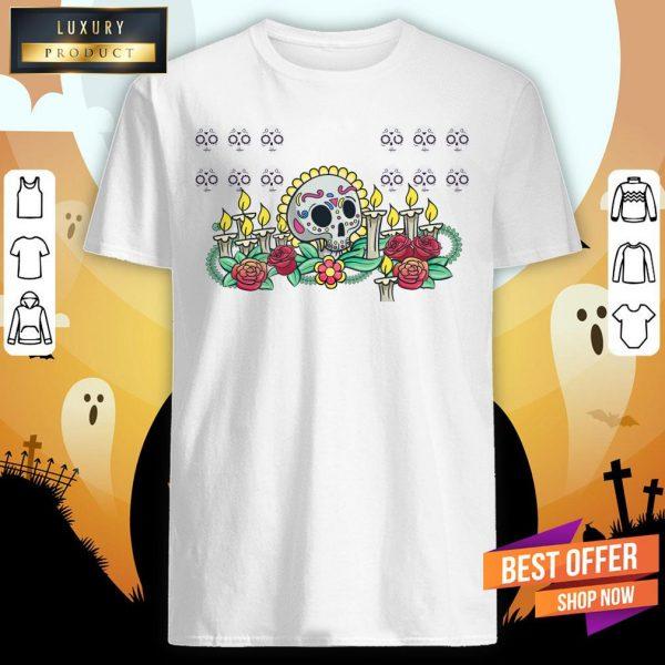 Die De Muertos Remember With The Dead Shirt
