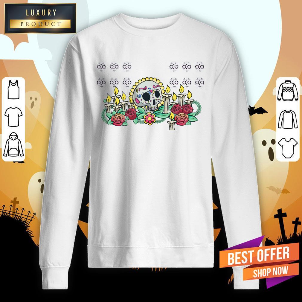 Die De Muertos Remember With The Dead Sweatshirt
