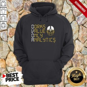 Dorks Value Only Analytics Dvoa Football Outsiders Hoodie